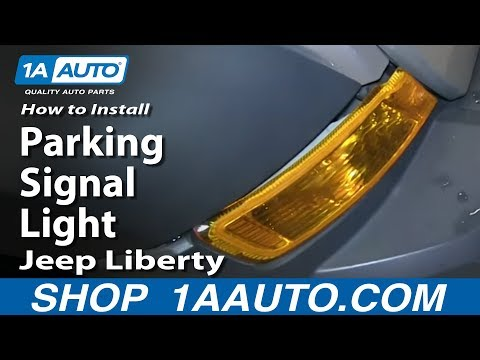 How To Replace Parking Signal Light 05-07 Jeep Liberty