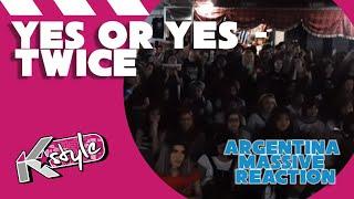 TWICE 'YES OR YES' MASSIVE MV REACTION  트와이스 뮤비 리액션 아르헨티나