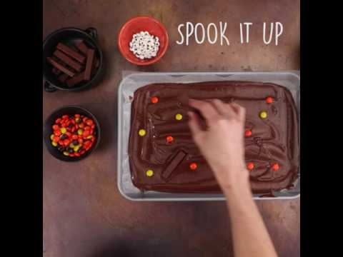 How to Make Haunted Chocolate Bark