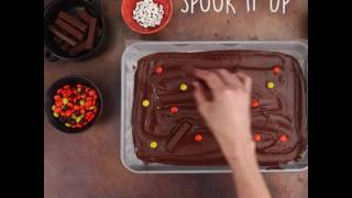 How to Make Haunted Chocolate Bark