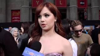 Debby Ryan Talks New Show Jessie At Disneys Prom Premiere