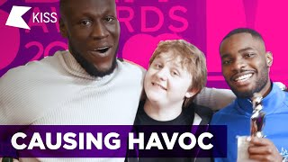 Stormzy, Lewis Capaldi & Dave cause HAVOC at the BRIT Awards 2020! 😂