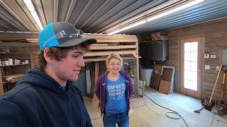 Chets Doing Carpentry?? #BonusFootage