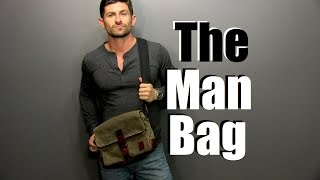 The Man Bag | Why Every Guy Needs One | Man Bag 101