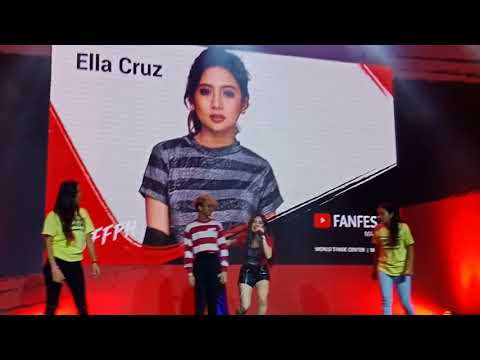 Download Ella Cruz Dance kpop with fans at Youtube FanFest 2018 HD Mp4 3GP Video and MP3