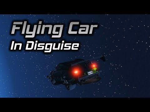 GTA Online: The Flying Car In Disguise...