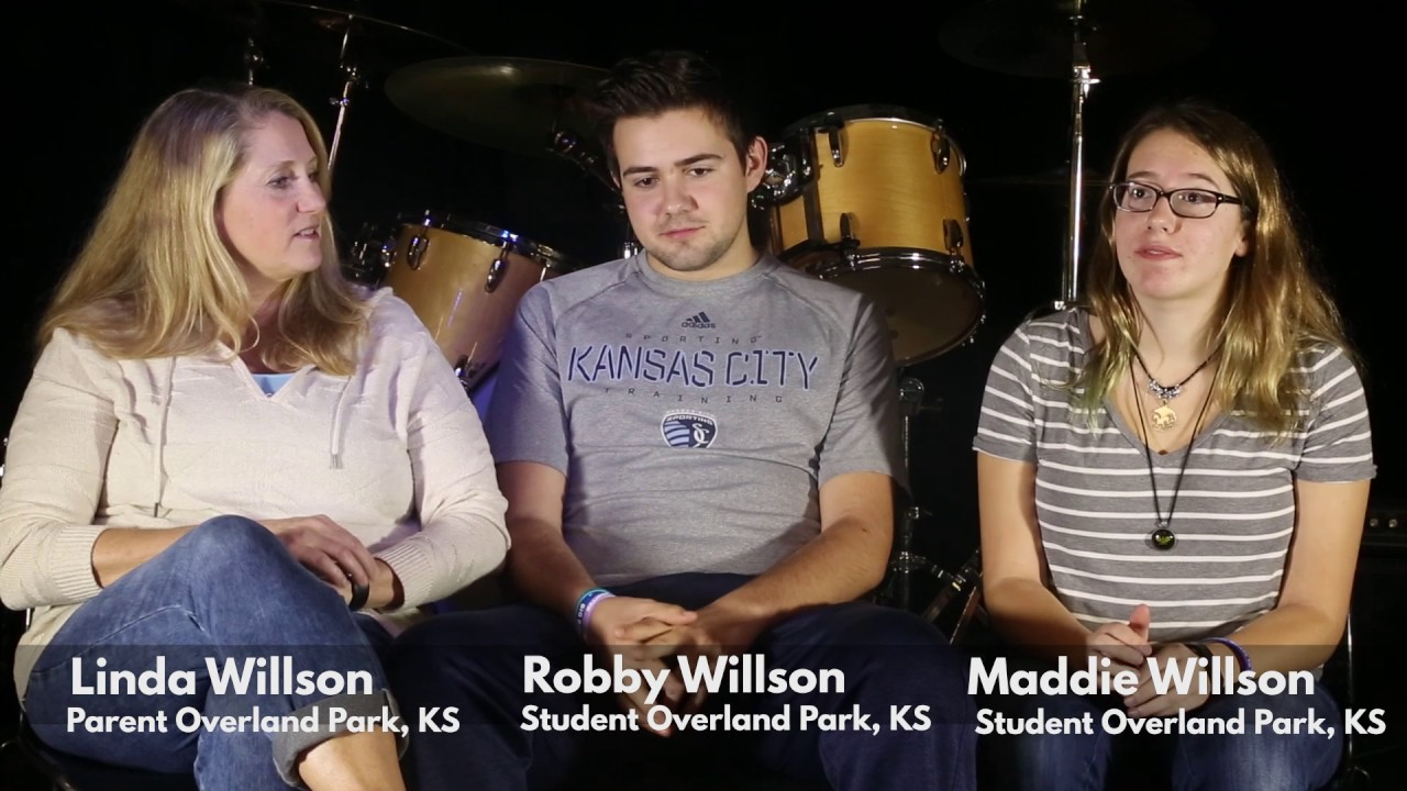 Maddie, Robby & Linda Willson