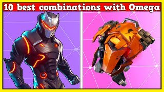 10 BEST COMBINATIONS With LEVEL 80 OMEGA! (Fortnite Battle Royale!)