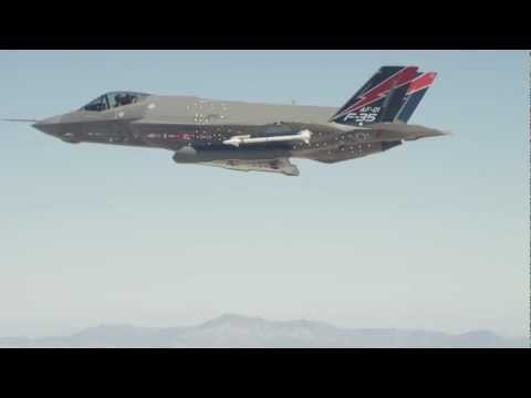 First F-35A Weapons Release
