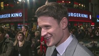 Мэтт Смит, Matt Smith on working with girlfriend Lily James in Pride and Prejudice and Zombies