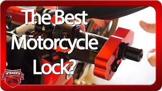 The Best Motorcycle Lever Security Lock? And Giveaway!