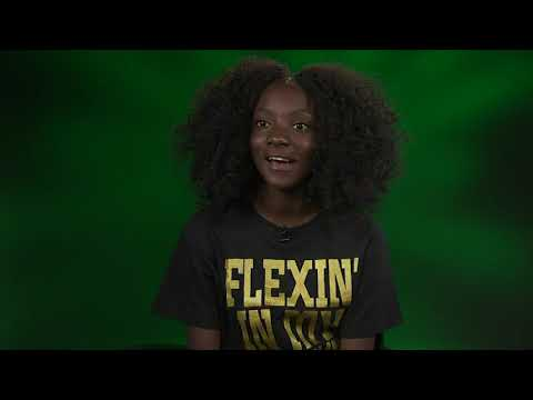 "Twelve-year-old girl bullied for her dark skin tone turned her grandmother's message of empowerment, ""Flexin' in my Complexion,"" into hope for others. Kheris Rogers has her own fashion line using her grandmother's words as her brand. (Jan. 9)"