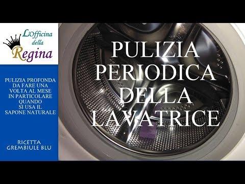 Pulizia periodica della lavatrice