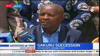 Gakuru Succession :MPs say there is no vacuum