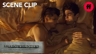 Shadowhunters | Season 2, Episode 18: #Malec Talks In Bed | Freeform