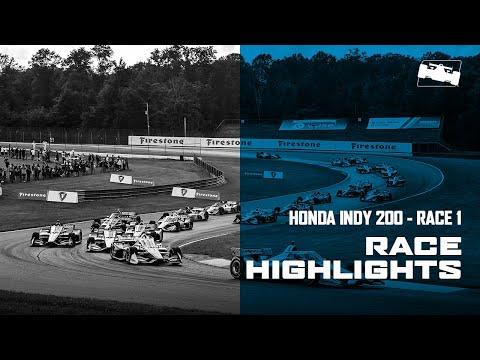 5分で見る!ハイライト動画。2020 インディ200・アット・ミッドオハイオ 決勝レース1のダイジェスト動画