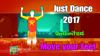 Just Dance 2017 - ( Unlimited )  - Move your Feet - 5 Stars ( Super Stars )