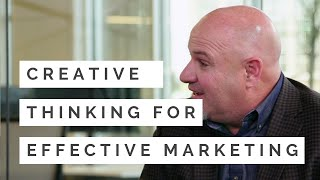Idea Generation: Creative Thinking for Effective Marketing