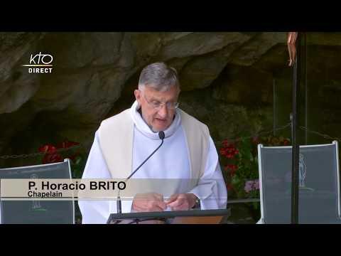 Chapelet à Lourdes du 1er juillet 2020