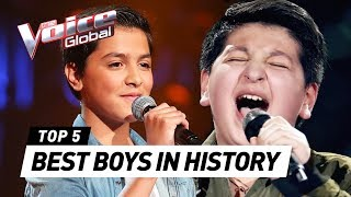 BEST BOYS in The Voice Kids history