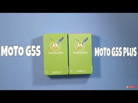 Moto G5S e Moto G5S Plus: unboxing duplo e primeiras impressões