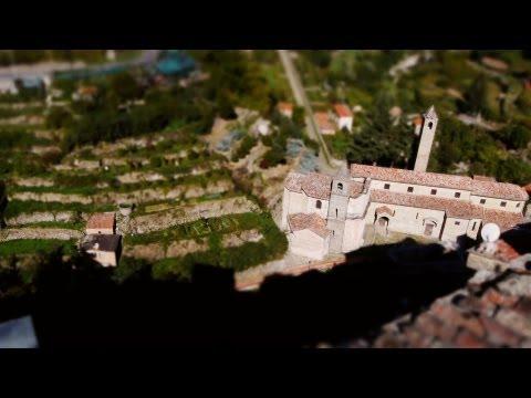 הנוף הקסום של מחוז ליגוריה באיטליה