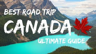 Canadian Rockies Guide: Calgary to Vancouver Road Trip (2020) 4K