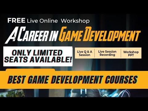 Game Development Career FREE Live Online Training | Best Game ...