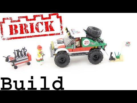 Vidéo LEGO City 60115 : Le 4x4 tout-terrain