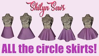 Comparing ALL The Types Of Circle Skirts!