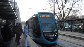 preview picture of video '[Besançon] CAF Urbos 3 n°819 - République'