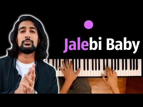 🔥 Хит TIkTok |  Jalebi baby (Джалеби бейби) ● караоке | PIANO_KARAOKE ● ᴴᴰ + НОТЫ & MIDI