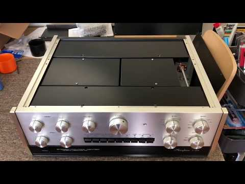 Accuphase E470 unboxing and first Soundcheck | STAMP TUBE