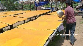 Yammy Mango Jelly Making - Mamidi Tandra - Aam Papdi street food