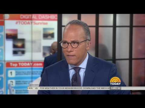 Lester Holt: Trump handed me 5 pages of Democratic quotes ripping James Comey, it's a 'fair point'