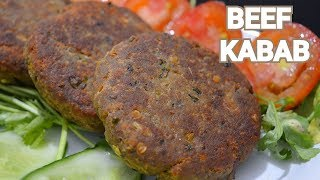 Beef Shami Kabab Recipe by (YES I CAN COOK) #BeefKabab #IftarSpecial #2019Ramazan