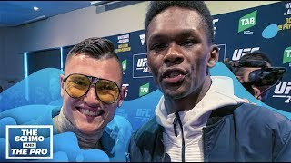 UFC 243: Israel Adesanya Thinks We Will See His Wrestling Against Robert Whittaker