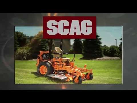 2018 SCAG Power Equipment Turf Tiger II 61 in. Briggs-Vanguard 31 hp in Chillicothe, Missouri - Video 1