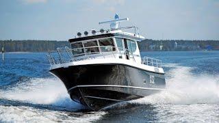 Обзор морского катера Nord Star 32 Patrol – мнения экспертов из Швеции