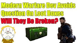 Modern Warfare Dev Avoids Question On LootBoxes Says It Will Be Player First