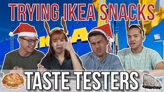 Trying Ikea Snacks in Singapore | Taste Testers | EP 85