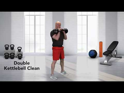 Double Kettlebell Clean