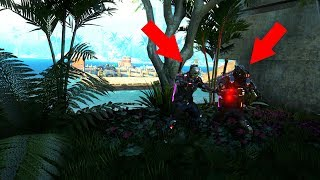 BOTH OF THEM WERE HIDING OUTSIDE THE MAP!?!?! HIDE N' SEEK ON BLACK OPS 3