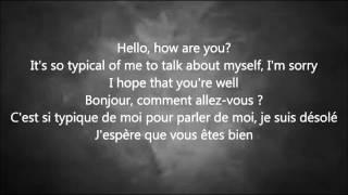 adele   Hello paroles anglais français