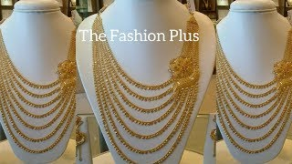 Latest Gold NECKLACES Designs  Bridal Necklaces Designs