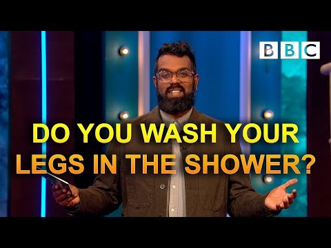 Do you wash your legs in the shower? | The Ranganation - BBC