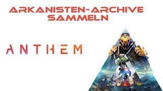 Arkanisten-Archive sammeln