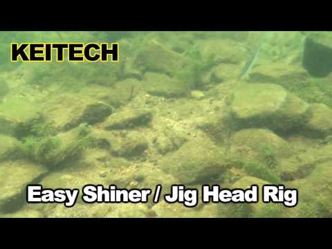 "Keitech Easy Shiner 4"" (10cm) gumihal videó"