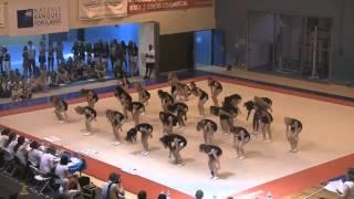 preview picture of video 'Finale cheerleading Centaures de Grenoble 2012'