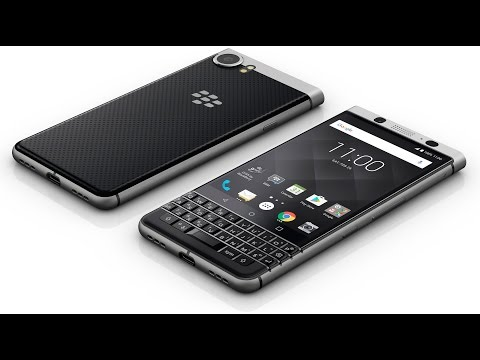 Знакомство с BlackBerry KeyOne